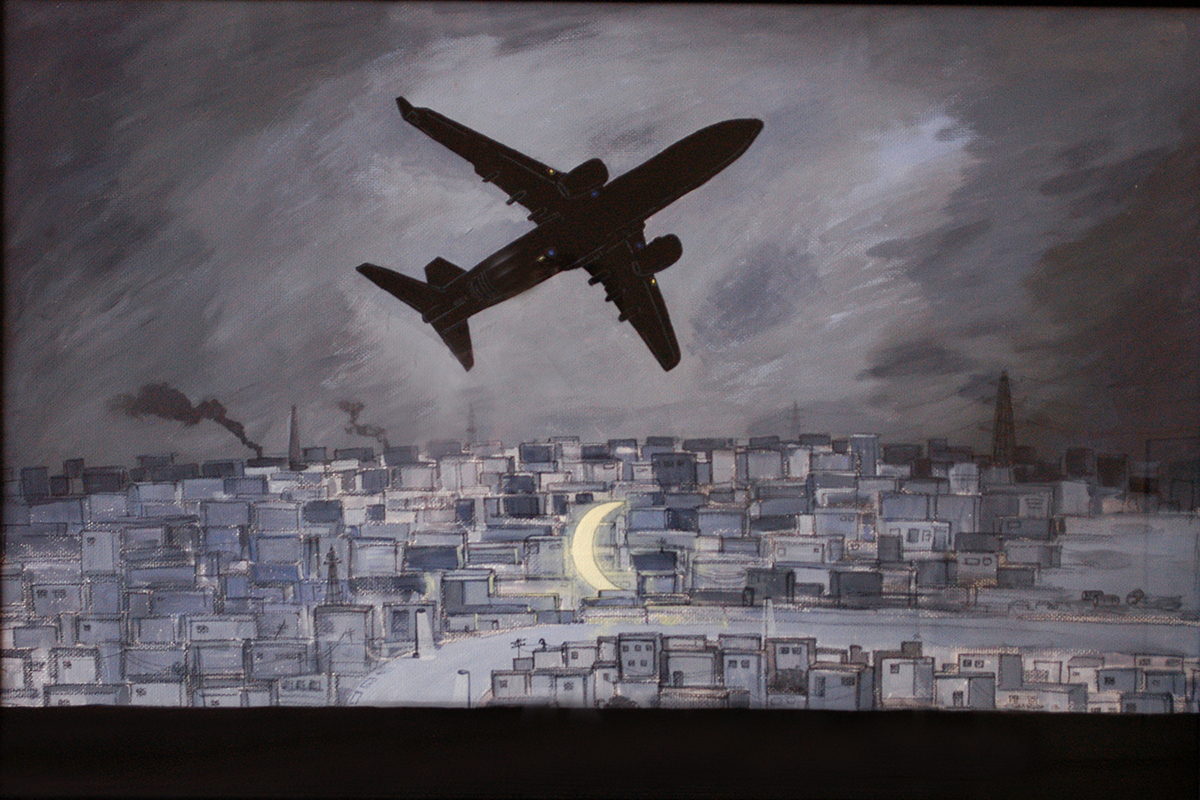 Flight to nowhere by S.M. Raza